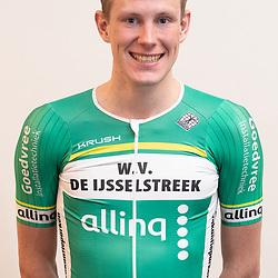 25-02-2020: Wielrennen: Teampresentatie IJsselstreek; Harderwijk <br /> Jelmer Arendshorst