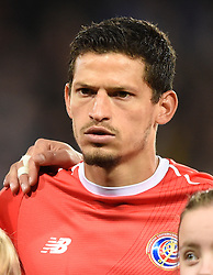 Costa Rica's Daniel Colindres before the international friendly match at Hampden Park, Glasgow
