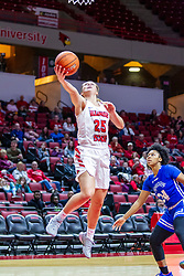 NORMAL, IL - January 03: Lexi Wallen during a college women's basketball game between the ISU Redbirds and the Sycamores of Indiana State January 03 2020 at Redbird Arena in Normal, IL. (Photo by Alan Look)