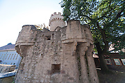 Pulverturm, Stadtbefestigung Wehranlagen am Pulverturm, Jena, Thüringen, Deutschland | city walls, magazine, Jena, Thuringia, Germany