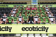 during the Forest Green Rovers Photocall at the New Lawn, Forest Green, United Kingdom on 31 July 2017. Photo by Shane Healey.