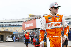 March 10, 2018 - Avondale, Arizona, United States of America - March 10, 2018 - Avondale, Arizona, USA: Ryan Blaney (12) hangs out in the garage during practice for the Ticket Guardian 500(k) at ISM Raceway in Avondale, Arizona. (Credit Image: © Chris Owens Asp Inc/ASP via ZUMA Wire)