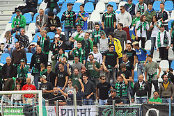 """Foto LaPresse/Filippo Rubin<br /> 22/10/2017 Ferrara (Italia)<br /> Sport Calcio<br /> Spal - Sassuolo - Campionato di calcio Serie A 2017/2018 - Stadio """"Paolo Mazza""""<br /> Nella foto: I TIFOSI DEL SASSUOLO<br /> <br /> Photo LaPresse/Filippo Rubin<br /> October 22, 2017 Ferrara (Italy)<br /> Sport Soccer<br /> Spal vs Sassuolo - Italian Football Championship League A 2017/2018 - """"Paolo Mazza"""" Stadium <br /> In the pic: SASSUOLO SUPPORTERS"""