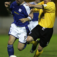 St Johnstone v Queen of the South...31.08.04 Bells Cup 2R<br />