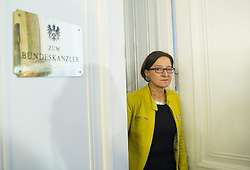 19.11.2013, Bundeskanzleramt, Wien, AUT, Bundesregierung, Sitzung des Ministerrats, im Bild Bundesministerin fuer Inneres Johanna Mikl-Leitner OeVP // Interior Minister Johanna Mikl Leitner OeVP before council of ministers, Chancellors Office, Vienna, Austria on 2013/10/19, EXPA Pictures © 2013, PhotoCredit: EXPA/ Michael Gruber