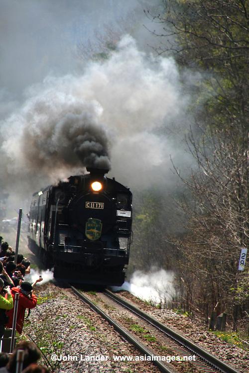 Lake Ohnuma SL Steam Locomotive