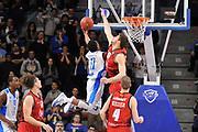 DESCRIZIONE : Eurocup 2015-2016 Last 32 Group N Dinamo Banco di Sardegna Sassari - Cai Zaragoza<br /> GIOCATORE : MarQuez Haynes<br /> CATEGORIA : Tiro Penetrazione Sottomano Controcampo<br /> SQUADRA : Dinamo Banco di Sardegna Sassari<br /> EVENTO : Eurocup 2015-2016<br /> GARA : Dinamo Banco di Sardegna Sassari - Cai Zaragoza<br /> DATA : 27/01/2016<br /> SPORT : Pallacanestro <br /> AUTORE : Agenzia Ciamillo-Castoria/C.Atzori