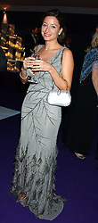 REBECCA LOOS at The British Red Cross London Ball - H2O The Element of Life, held at The Room by The River, 99 Upper Ground, London SE1 on 17th November 2005.<br /><br />NON EXCLUSIVE - WORLD RIGHTS