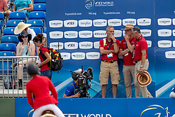 Team Germany, watching, Klaphake Laura, GER, Catch Me If You Can 21<br /> World Equestrian Games - Tryon 2018<br /> © Hippo Foto - Dirk Caremans<br /> 19/09/2018