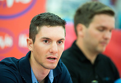 Jan Polanc (SLO) of Lampre-Merida Team during press conference of cycling race Po Sloveniji - Tour de Slovenie 2015 on June 16, 2015 in Citypark, Ljubljana, Slovenia. Photo by Vid Ponikvar / Sportida
