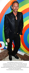 Shoe designer PATRICK COX, at a party in London on 20th October 2003.PNP 152