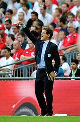 04.06.2011, Wembley Stadium, London, ENG, UEFA EURO 2012, Qualifikation, England vs Switzerland, im Bild England manager Fabio Capello.England v Switzerland.Euro 2012 qualifying.Wembley Stadium. London. UK. 4/6/11. EXPA Pictures © 2011, PhotoCredit: EXPA/ IPS/ Sean Ryan +++++ ATTENTION - OUT OF ENGLAND/UK and FRANCE/FR +++++