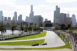 FORMEL 1: GP von Australien, Melbourne, 27.03.2009 Rennstrecke, Stadtansicht, Illustration<br /> © pixathlon