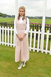 DONNA AIR at the Cartier Queen's Cup Polo final at Guard's Polo Club, Smiths Lawn, Windsor Great Park, Egham, Surrey on 14th June 2015