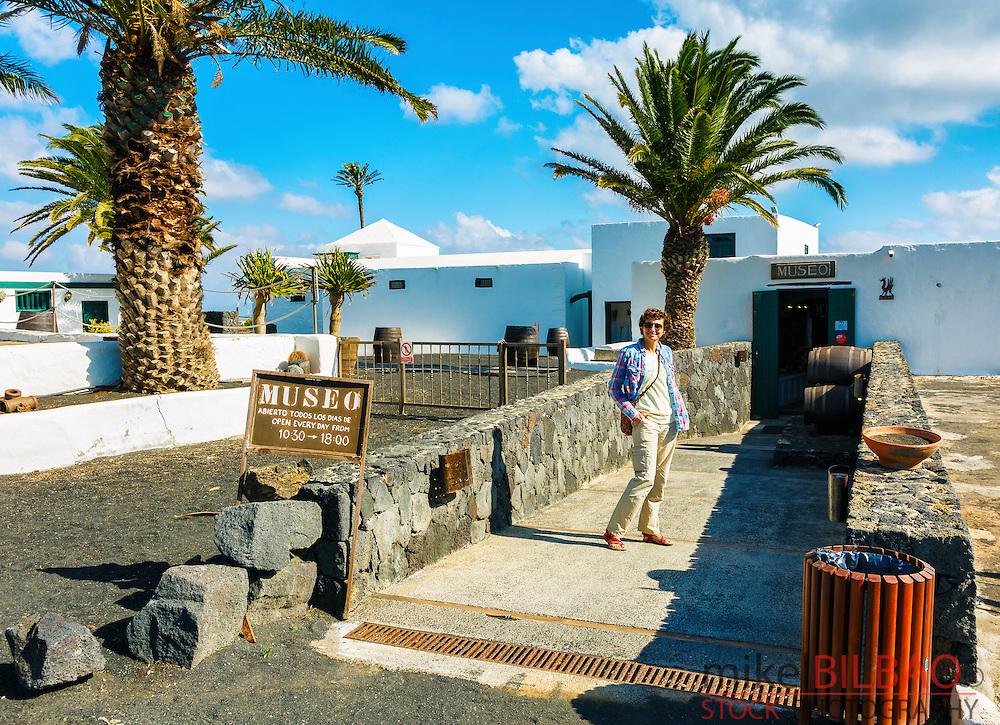El Grifo wine cellar and museum. San Bartolome, Lanzarote, Canary Islands, Spain, Europe.