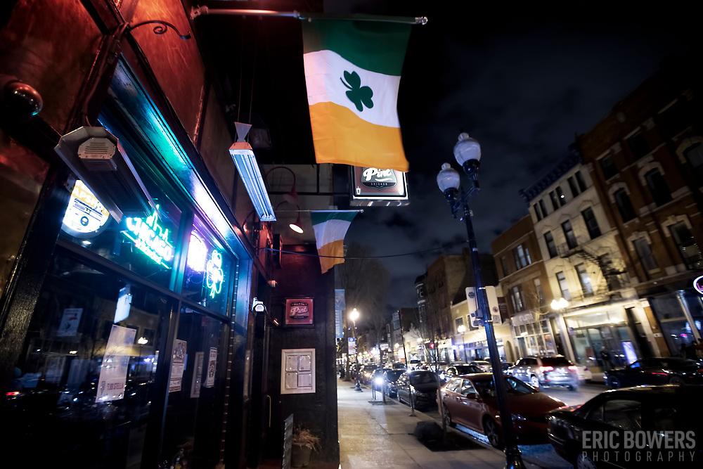 Pint Pub + Kitchen, Milwaukee Avenue, Wicker Park, Chicago.