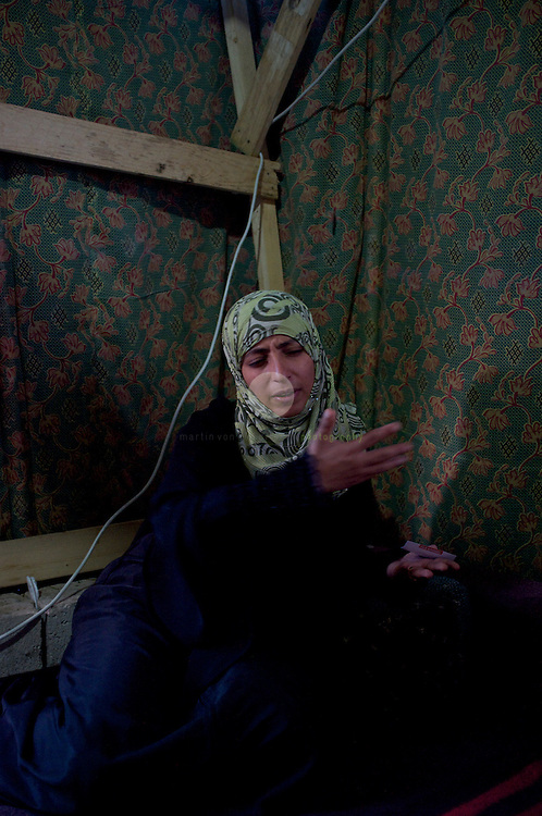 Turmoil in Yemen: ASIA, YEMEN, SANA, 21.06.2011: Tawakkol Karman in her tent at Change Square. Ms. Karman, a leader of Yemen's democratic youth movement, is the founder of Women Journalists Without Chains.<br /> <br /> Ms. Karman is a winner of the Nobel Peace Prize 2011. She is sharing the prize with Leymah Gbowee of Liberia and Liberian President Ellen Johnson Sirleaf. The women were recognized for their nonviolent activism.