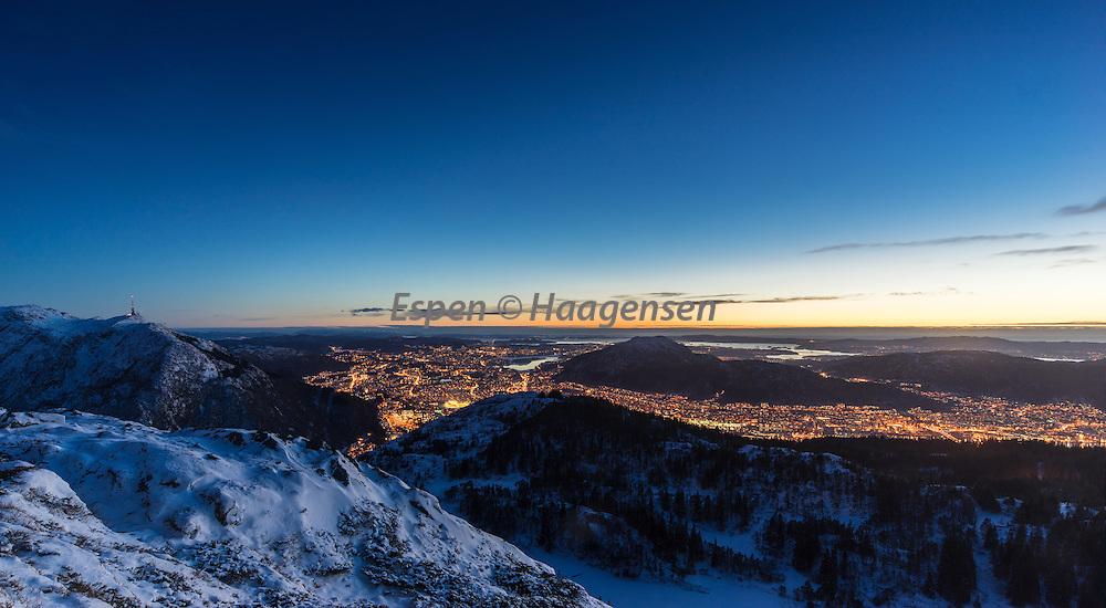Wide view from Blåmanen