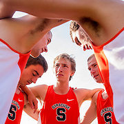 September 25, 2015, Boston, MA:<br /> The Syracuse University Cross Country team competes in the Coast to Coast Battle in Beantown cross country meet at Franklin Park Zoo in Boston, Massachusetts Friday, September 25, 2015.<br /> (Photos by Billie Weiss/Syracuse University)