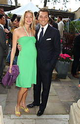 SEB & HEIDI BISHOP she was model Heidi Wichlinski at Michele Watches Kaleidoscope Summer Garden Party held at Home House, Portman Square, London on 15th June 2005.<br /><br />NON EXCLUSIVE - WORLD RIGHTS