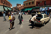 You can park anywhere in Marrakech