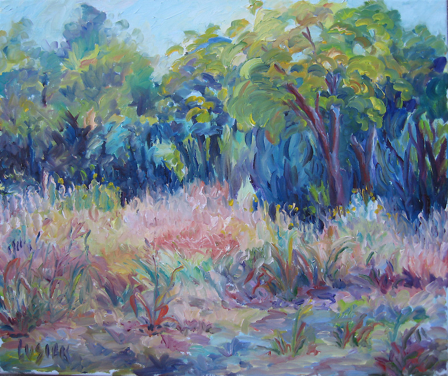 """20""""h x 24""""w, Oil on linen canvas,"""