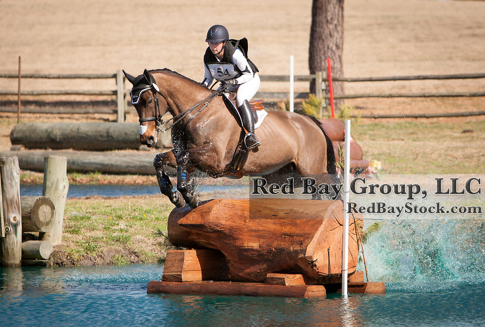 Kendal Lehari and Totally Frank at the 2014 Pine Top Farm Advanced Horse Trials in Thomson, Georgia.