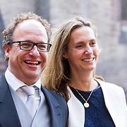 NLD/Den Haag/20180918 - Prinsjesdag 2018, Minister Wouter Koolmees en partner