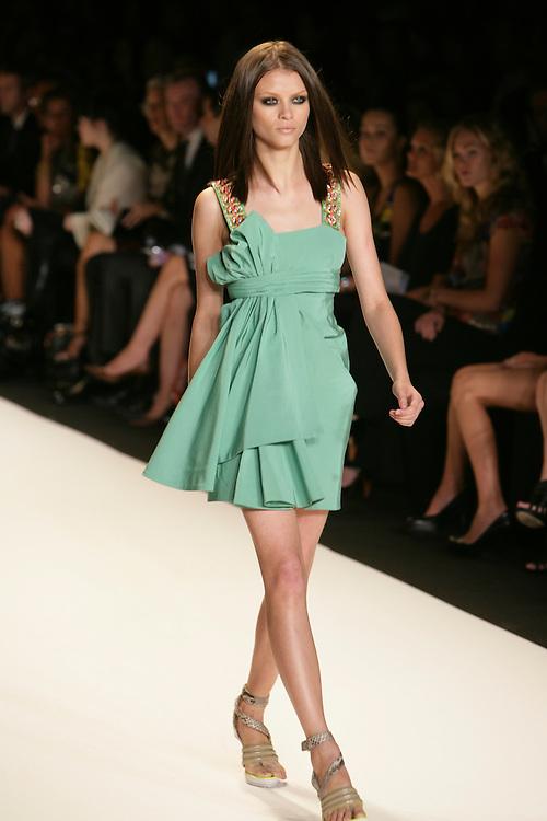 Matthew Williamson<br /> Spring/Summer 2009 Collection<br /> Mercedes-Benz Fashion Week<br /> New York, NY, Sept 2008