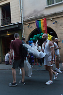 Paris Gay pride parade in Paris/ parade des fiertes LGBT