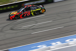 June 1, 2018 - Long Pond, Pennsylvania, United States of America - Martin Truex, Jr (78) brings his car down the frontstretch during qualifying for the Pocono 400 at Pocono Raceway in Long Pond, Pennsylvania. (Credit Image: © Chris Owens Asp Inc/ASP via ZUMA Wire)