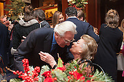 LORD HESELTINE;  LADY PAMELA HICKS; , Book launch for ' Daughter of Empire - Life as a Mountbatten' by Lady Pamela Hicks. Ralph Lauren, 1 New Bond St. London. 12 November 2012.