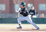 February 8, 2018: The Oklahoma Baptist University Bison play against the Oklahoma Christian University Eagles at Dobson Field on the campus of Oklahoma Christian University.