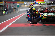 Grosser Racing changes tyres during the Francorchamps Endurance Series at Spa, Belguim on 31 July 2016. Photo by Jarrod Moore.