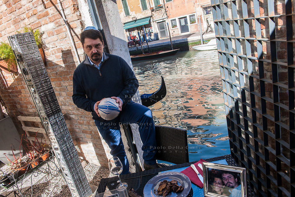 Venezia - Comunità ebraica di Venezia. Davide Federici. Giornalista.