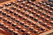 Pouso Alegre_MG, Brasil...Imagem aerea de um conjunto habitacional na cidade de Pouso Alegre. ..The aerial view of housing state in Pouso Alegre...FOTO: LEO DRUMOND / NITRO