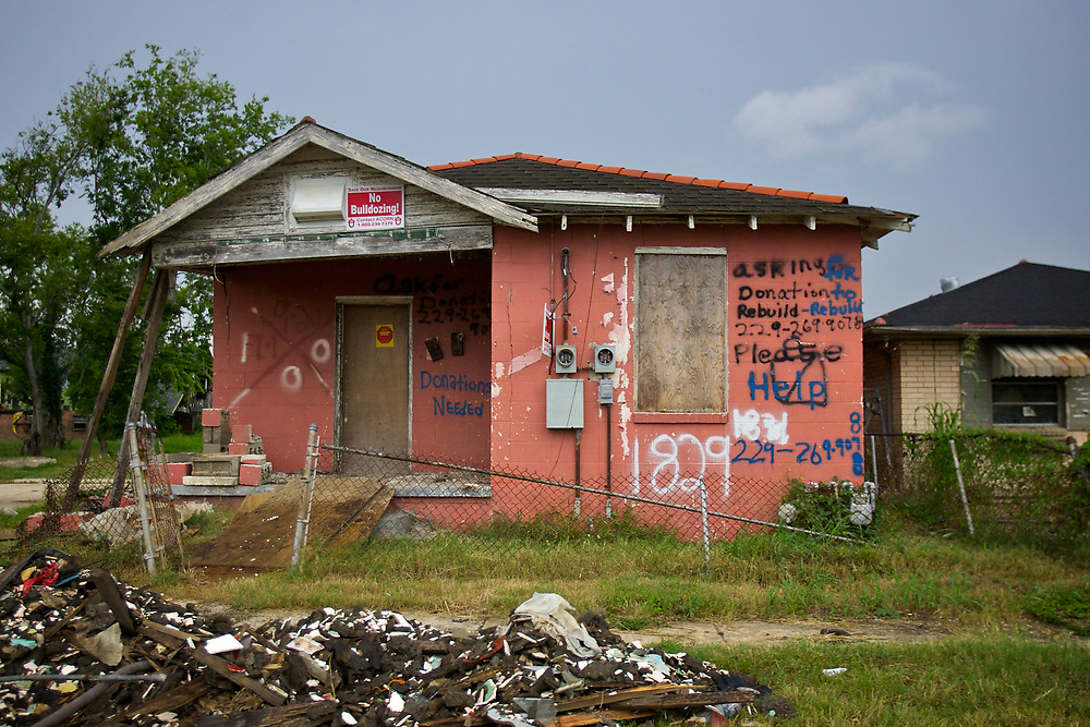 Two years after Hurricane Katrina devastated New Orleans, the city still copes with the damage and loss suffered throughout the hardest hit communities.