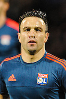 Mathieu VALBUENA - 04.11.2015 - Lyon / Zenith St Petersbourg - Champions League<br />