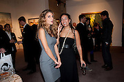 KATIA NOUNOU; PRINCESS ALIA AL-SENUSSI;, Book launch for ' art and Patronage: The Middle East' at Sotheby's. London. 22 November 2010. -DO NOT ARCHIVE-© Copyright Photograph by Dafydd Jones. 248 Clapham Rd. London SW9 0PZ. Tel 0207 820 0771. www.dafjones.com.