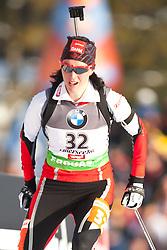 09.12.2011, Biathlonzentrum, Hochfilzen, AUT, E.ON IBU Weltcup, 2. Biathlon, Damen 7,5km Sprint, im Bild Romana Schrempf (AUT) // Romana Schrempf of Austria during women 7.5km Sprint at E.ON IBU Worldcup 2th Biathlon, Hochfilzen, Austria on 2011/12/09. EXPA Pictures © 2011, PhotoCredit: EXPA/ Johann Groder
