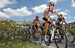 06.07.2011, AUT, 63. OESTERREICH RUNDFAHRT, 4. ETAPPE, MATREI-ST. JOHANN, im Bild Georg Preidler, (AUT, TYROL Team) am Großglockner // during the 63rd Tour of Austria, Stage 4, 2011/07/06, EXPA Pictures © 2011, PhotoCredit: EXPA/ S. Zangrando