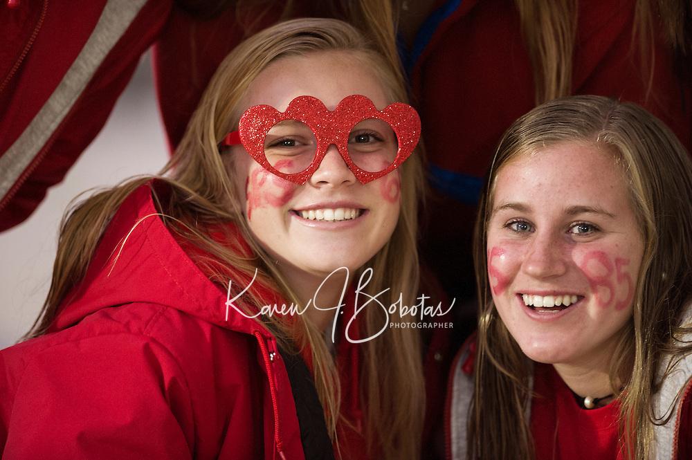 St Paul's School varsity football versus Roxbury Latin.  ©2016 Karen Bobotas Photographer