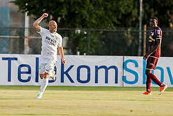 Fucek Josip of Zavrc during football match between NK Triglav Kranj and Zavrc 3rd Round of Prva Liga, on 28 July, 2013, in Sportni center Kranj, Slovenia. (Photo by Grega Valancic / Sportida)
