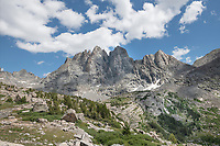 Mount Bonneville. Bridger Wilderness, Wind River Range Wyoming