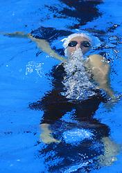 Swimmer, Women`s 200m Backstroke, at day 4 of Heats of LEN European Short Course Swimming Championships Rijeka 2008, on December 14, 2008,  in Kantrida pool, Rijeka, Croatia. (Photo by Vid Ponikvar / Sportida)