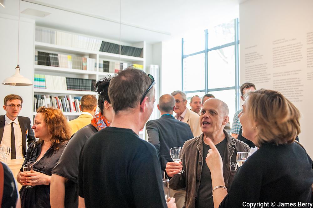 Crowd Out reception. Calvert 22. 21 June 2014.