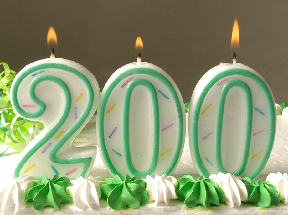 16267Bicentennial Birthday Cake: Johnny Hanson