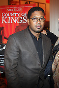 Jayson Jackson at The Opening for Spike Lee's theater production of  ' County of Kings' held at The Publc Theater on October  12, 2009