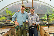 Josh Volk and Matt Gorden of Cully Neighborhood Farm