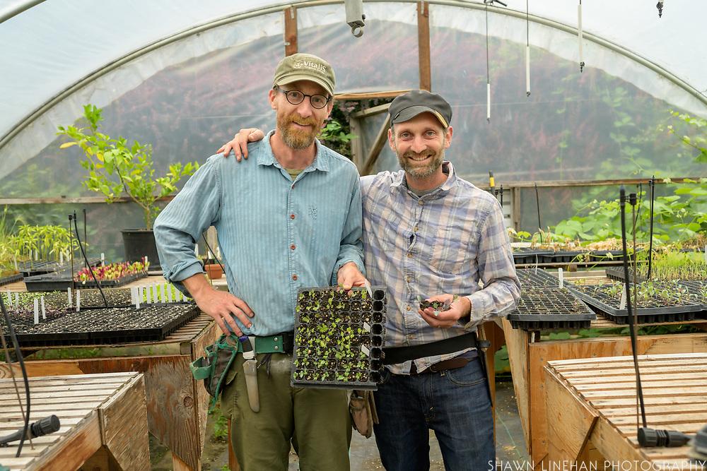 Josh Volk and Matt Gorden of Cully Neighborhood Farm